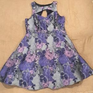 Size 16 City Chic floral dress